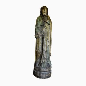 Statue of Jesus Holding a Feather, 1700s