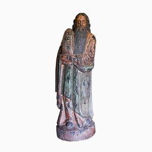 Statue von Moses mit Tablets der Zehn Gebote, 1700er