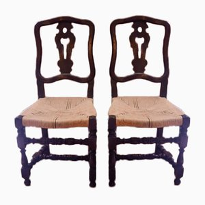 Spool Chairs, 1800s, Set of 2
