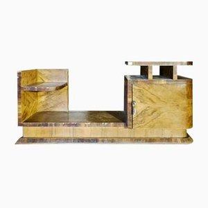 Art Deco Walnut Veneer Dressing Table