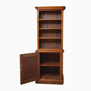 Victorian Slim Mahogany Bookcase