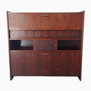 Rosewood Model SK661 Bar Cabinet by Johannes Andersen for Skaaning & Søn, 1960s