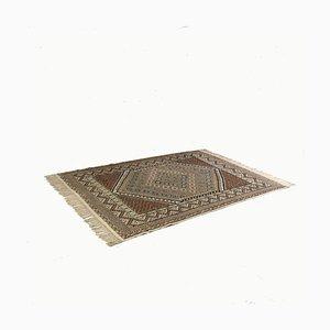 Handgewebter Tunesischer Kelim Teppich, 1980er