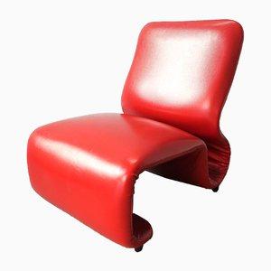 Model Etcetera Low Chairs by Jan Ekselius, 1970s, Set of 2