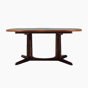 Vintage Danish Rosewood Dining Table by Gudme Møbelfabrik, 1970s