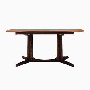 Vintage Danish Rosewood Dining Table by Gudme Møbelfabrik, 1970s