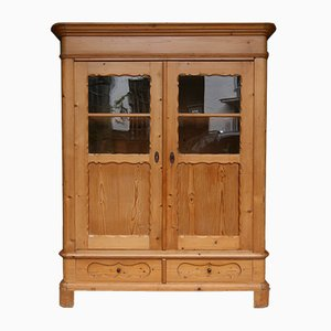 Biedermeier Pinewood Cupboard