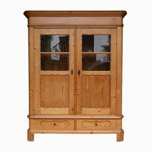 Biedermeier Pinewood Cupboard