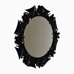 Danish Wall Mirror from Dantoft Dansk Design, 1960s