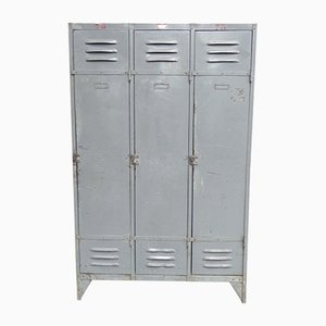 Industrial Steel Locker, 1950s