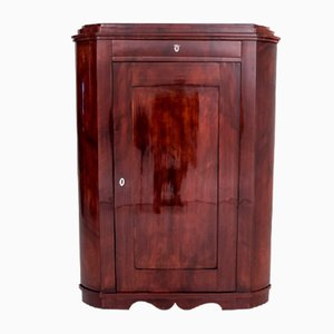 Biedermeier Corner Cabinet