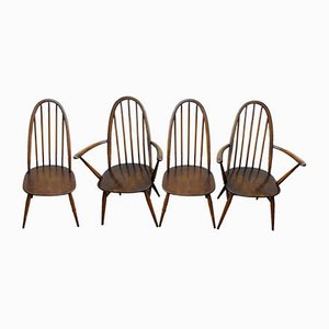 Vintage Windsor Dining Chairs by Lucian Ercolani for Ercol, 1960s, Set of 4