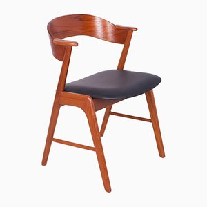 Vintage Teak Model 32 Armchair by Kai Kristiansen for Korup Stolefabrik, 1960s