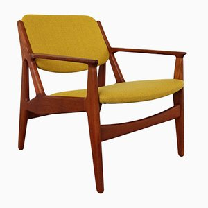 Mid-Century Danish Teak Ella Easy Chairs by Arne Vodder for Vamø, Set of 2