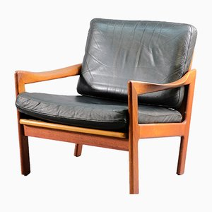 Mid-Century Lounge Chairs by Illum Wikkelsø for Niels Eilersen, 1960s, Set of 2