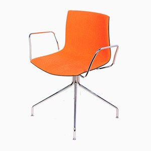 Model Catifa 53 Armchairs by Lievore Altherr Molina for Arper, 2000s, Set of 5
