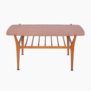 Teak Coffee Table with Shelf from Nathan, 1970s