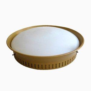 Mid-Century Round Ceiling Lamp, 1950s