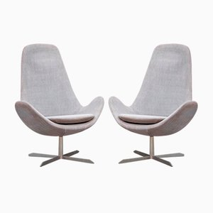 Vintage Model Electra Swivel Armchairs from Calligaris, Set of 2