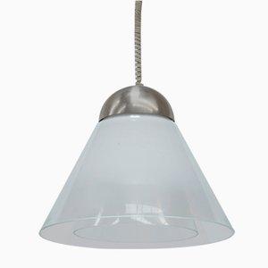 Modell LS189 Deckenlampe von Carlo Nason für Mazzega, 1970er