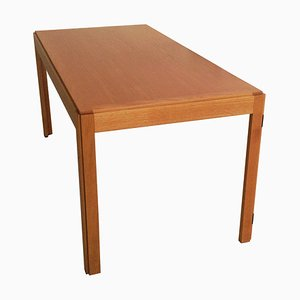 Danish Oak Folding Desk by Børge Mogensen for Fredericia Stolefabrik, 1970s