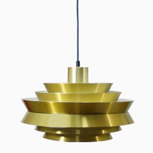 Mid-Century Ceiling Lamp by Carl Thore for Granhaga Metallindustri, 1960s