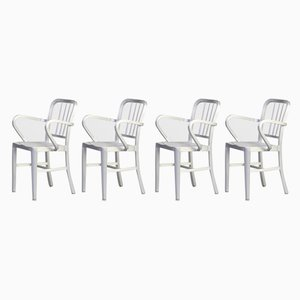 Aluminum Model Navy Dining Chairs from Emeco, 1980s, Set of 4