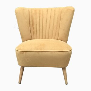 Hungarian Ocher Club Chair, 1950s