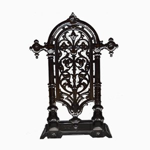 Victorian Cast Iron Umbrella Stand from Carron