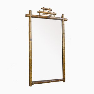19th Century Bamboo Dressing Room Mirror