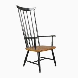 Mid-Century High Back Chair by Ilmari Tapiovaara, 1960s