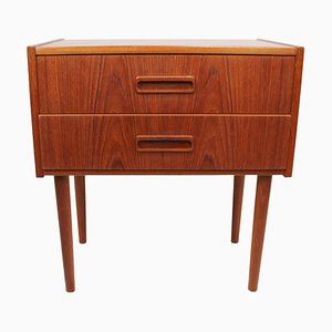 Small Danish Chest of Drawers in Teak, 1960s