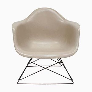 Vintage LAR Side Chair with Cats Cradle Slide Base by Charles & Ray Eames for Herman Miller