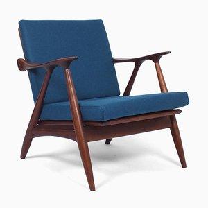 Teak Lounge Chair from Gelderland De ster, the Netherlands, 1950s