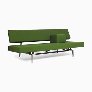 Green Br02 Sofa-Bed with Armrest by Martin Visser for 't Spectrum, 1960s