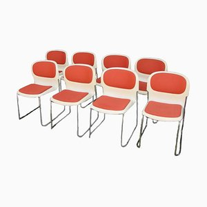 SM400K Chairs from Drabert, Germany, 1990s, Set of 8