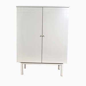 Vintage Space Ago White Highboard from Lustro, 1960s