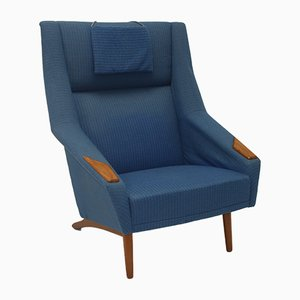 Mid-Century Lounge Chair by Folke Ohlsson for Fritz Hansen