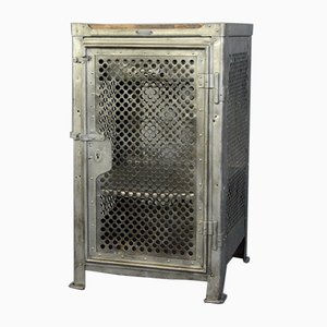 Antique Industrial Cabinet by Robert Wagner for Rowac, 1910s