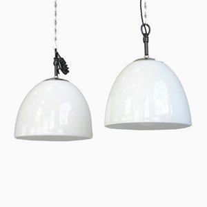 Opaline Pendant Lamp by Vilhelm Lauritzen, 1950s