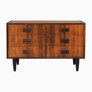 Mid-Century Danish Rosewood Chest of Drawers by N.J. Thørso, 1970s