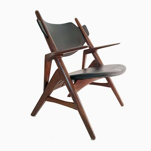 Mid-Century Danish Teak Lounge Chair, 1950s