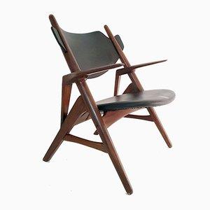 Mid-Century Danish Teak Lounge Chair, 1950s