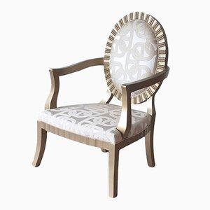 Art Deco Armlehnstuhl mit Hermès Bezug von Photoliu