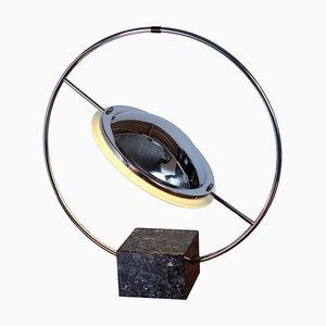 Lampada da tavolo Atomic postmoderna di Jean Pierre per Vitrac, anni '80