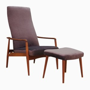 Mid-Century Danish Teak Armchairs by Søren Ladefoged for SL Mobler, 1970s, Set of 2