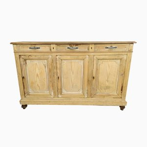 Antique Pinewood Sideboard