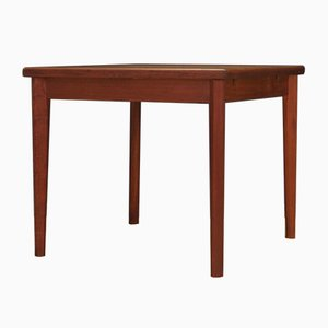 Mid-Century Danish Teak Extendable Dining Table from Brdr. Furbo, 1970s