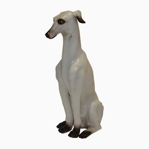 Vintage Ceramic Greyhound, 1960s