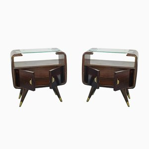 Vintage Nightstands by Osvaldo Borsani, 1950s, Set of 2